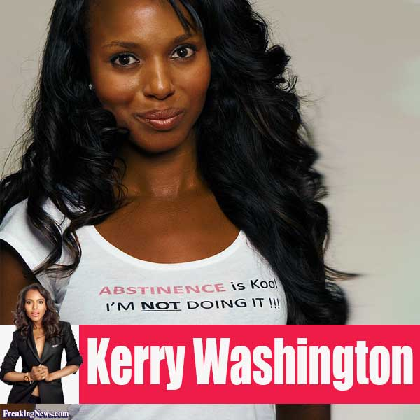 Cute #3: Kerry Washington Scandal Cute