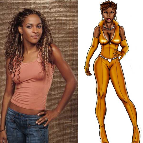 Megalyn Echikunwoke is an Animated Vixen