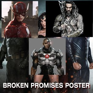 Batman v Superman Broken Promise Poster