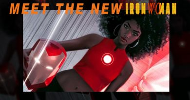 Black Female Iron Man