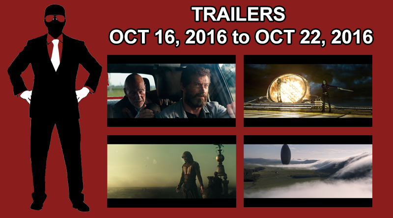 Trailers - October 22, 2016