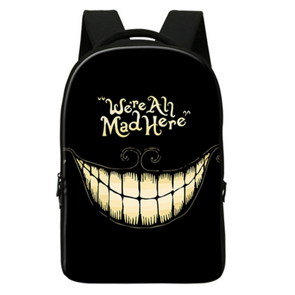 Cheshire Cat Smile Backpack