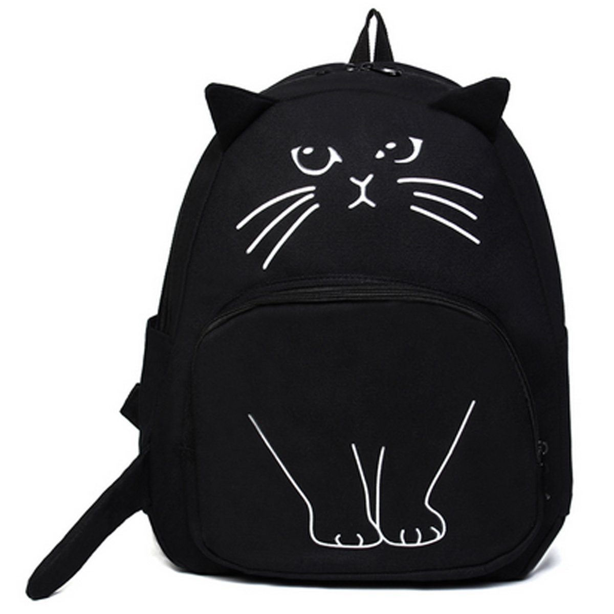 Lovely Cat Canvas Bookbag
