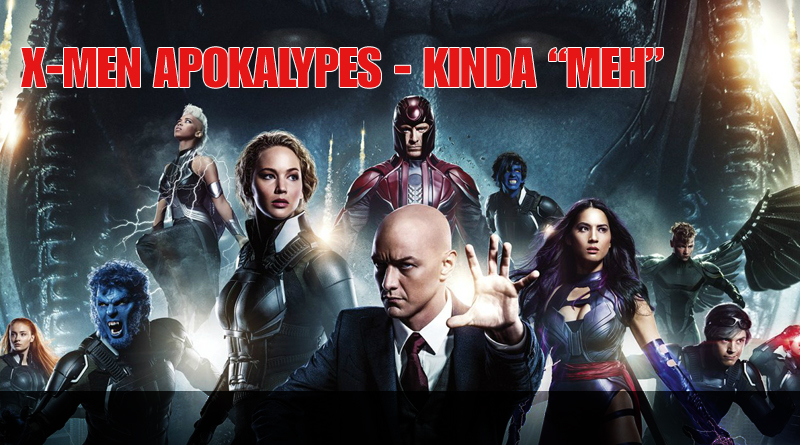 X-Men Apocalypse Review Feature Image
