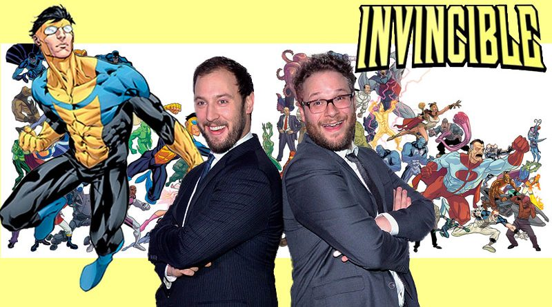 Seth Rogen Evan Goldberg Invincible