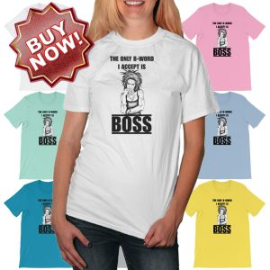 B is for BOSS Buy Now
