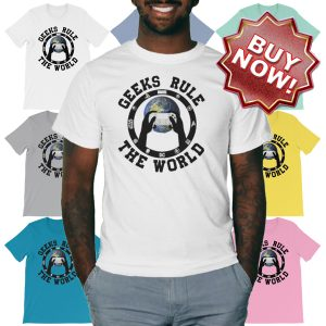Geeks Rule the World Buy Now