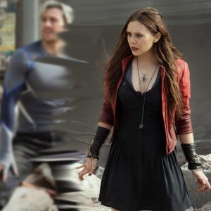 Avengers Age of Ultron Quicksilver and Scarlet Witch