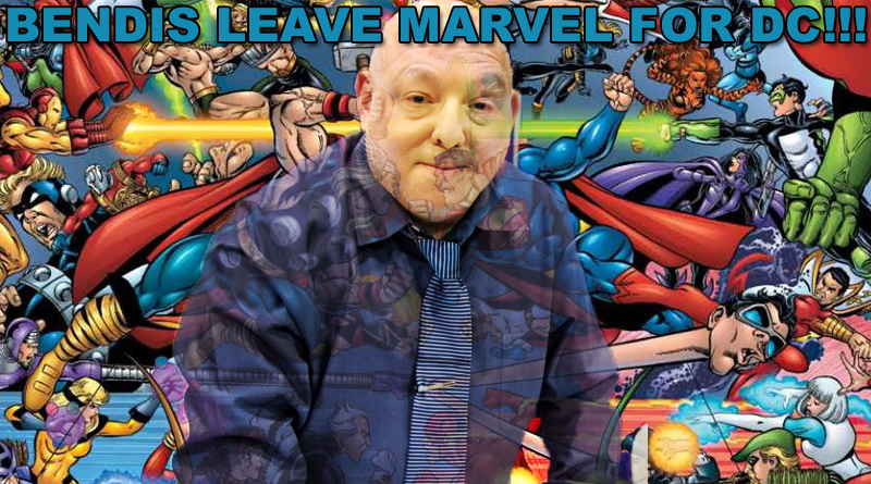 Brian Michael Bendis Leaves Marvel
