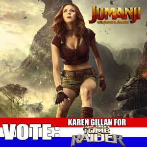 Jumanji Welcome to the Jungle Katen Gillan