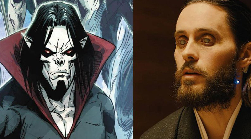 Jared Leto Playing Morbius