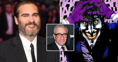 Joaquin Phoenix and Martin Scorsese Joker Movie