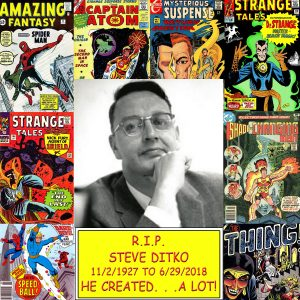 Steve Ditko Dies at Age 90