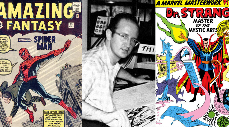 Steve Ditko Passes Away