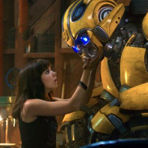 Transformers Bumblebee and Charlie