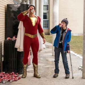 DCEU Shazam Billy Batson and Freddy Freeman
