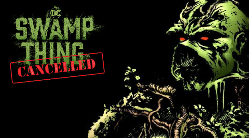 DC Universe Swamp Thing Canceled